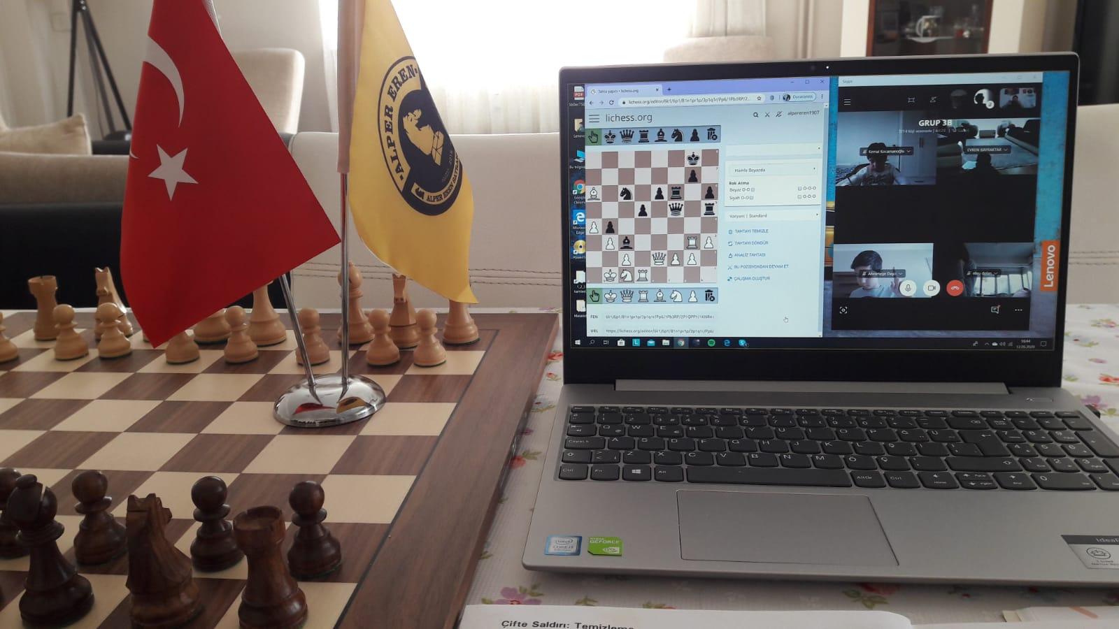 denizli online satranç kurs kayıtları